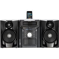 Sharp CD-DH950P Mini Hi-Fi System - 240 W RMS - iPod Supported - Black